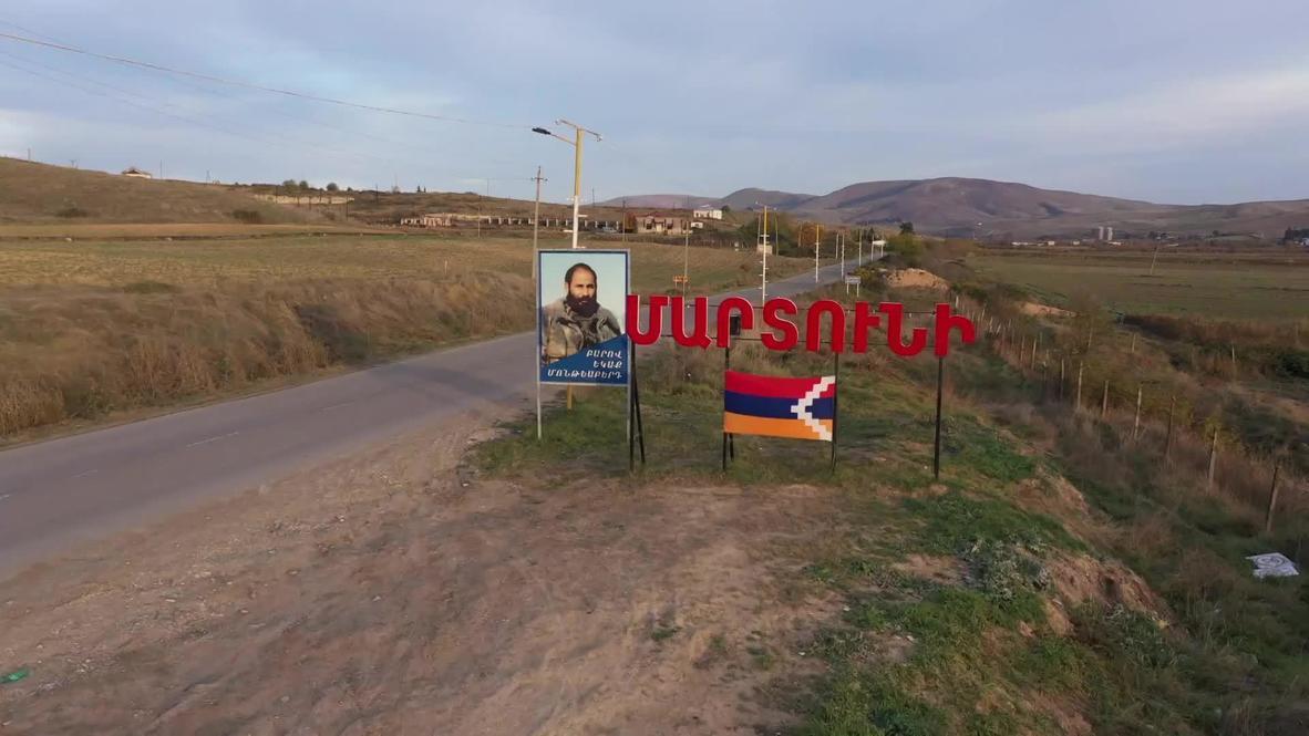 Nagorno-Karabakh: Russian peacekeepers and EMERCOM control distribution of humanitarian aid