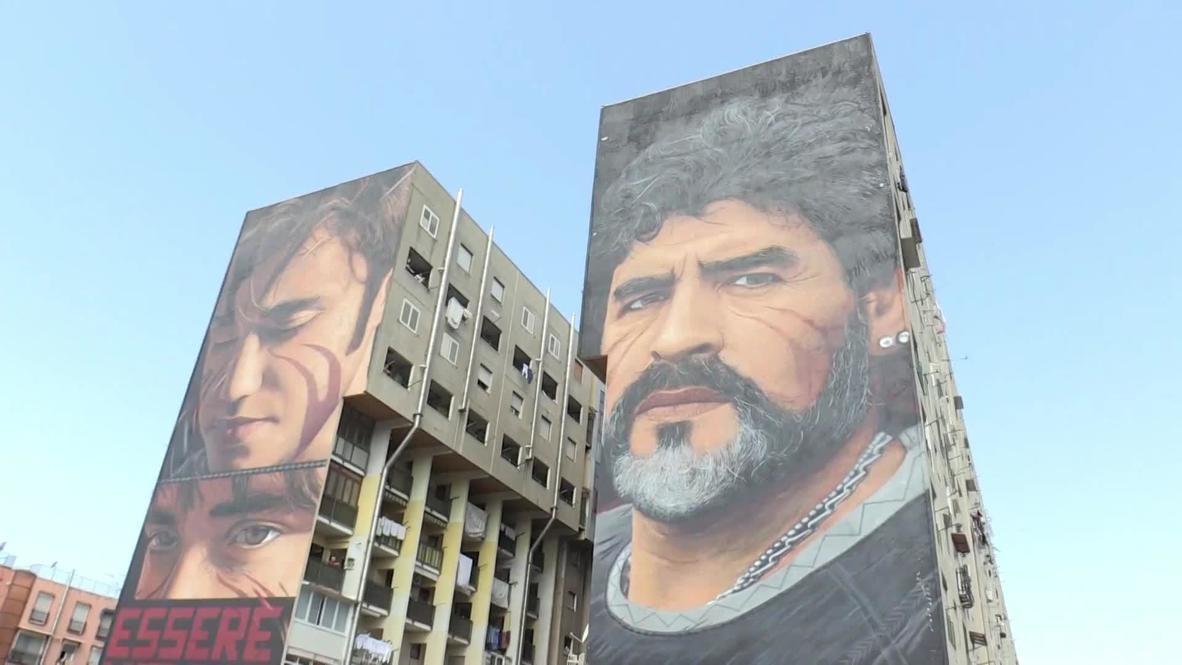 От Неаполя до Буэнос-Айреса. Память о Марадоне в произведениях городского искусства *АРХИВ*