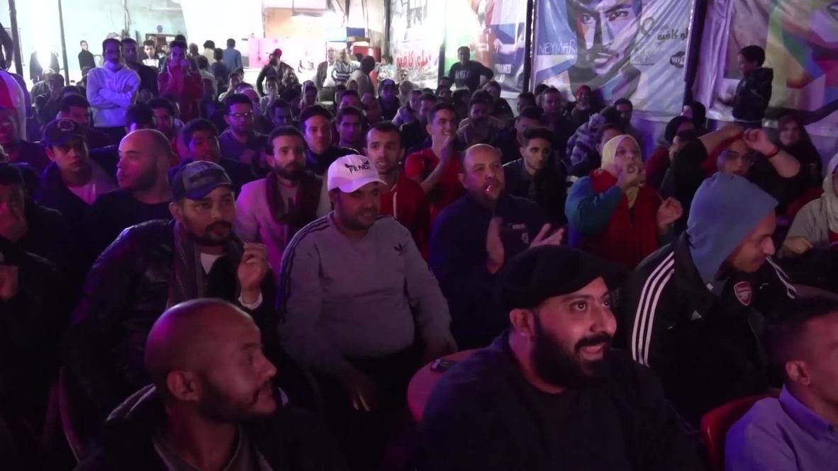 مصر: الآلاف يحتشدون احتفالاً بفوز النادي الأهلي بلقب دوري أبطال أفريقيا