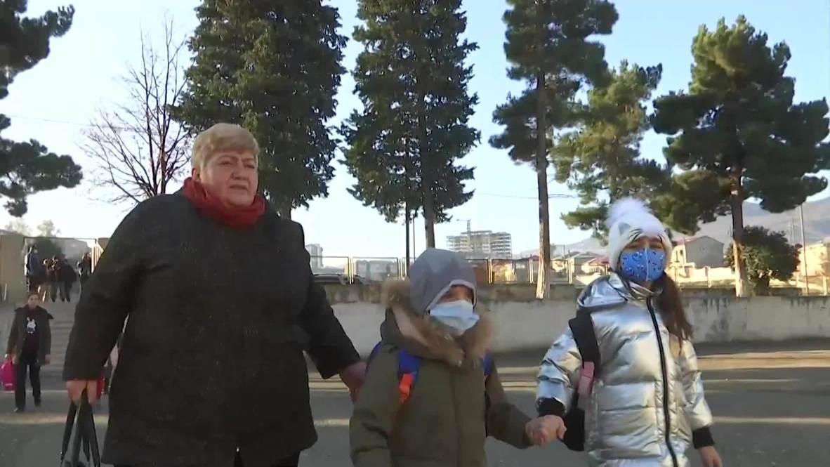 ناغورنو-قره باغ: إعادة افتتاح المدارس في ستيباناكيرت بعد وقف إطلاق النار