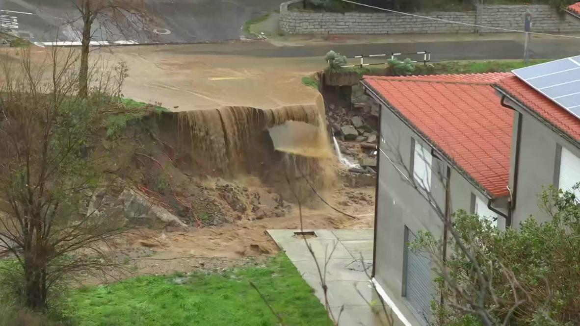 Italy: Floods wreak havoc and kill at least 3 in Sardinia