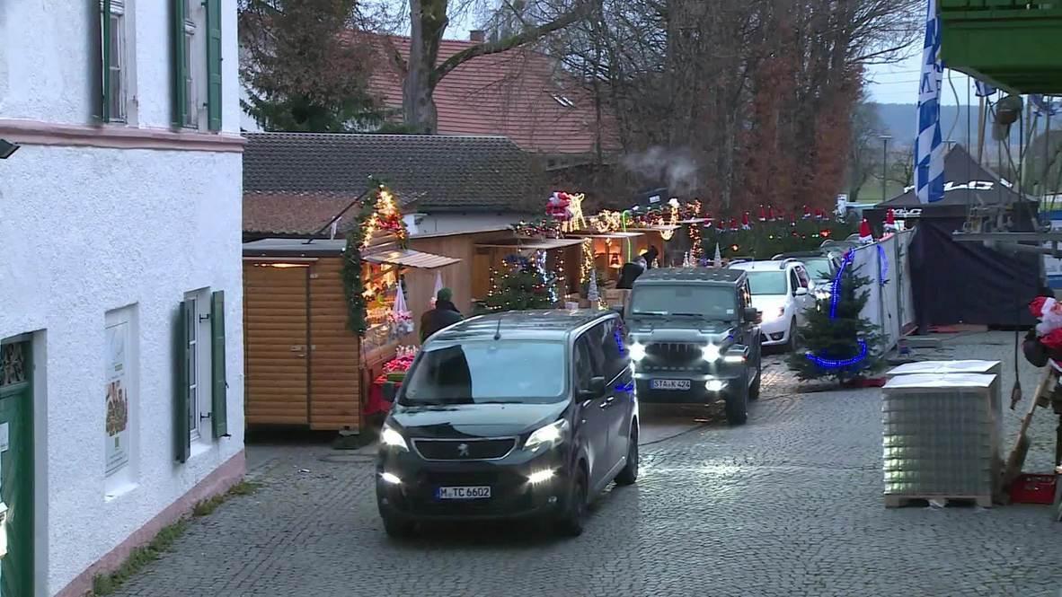 Alemania: Mercado navideño se adapta a la pandemia y atiende a clientes desde el coche
