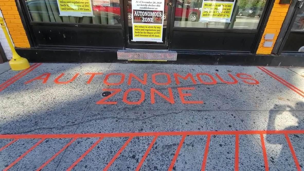 """EE.UU.: Bar de Staten Island se declara """"zona autónoma"""" y permanece abierto pese a las restricciones por covid"""