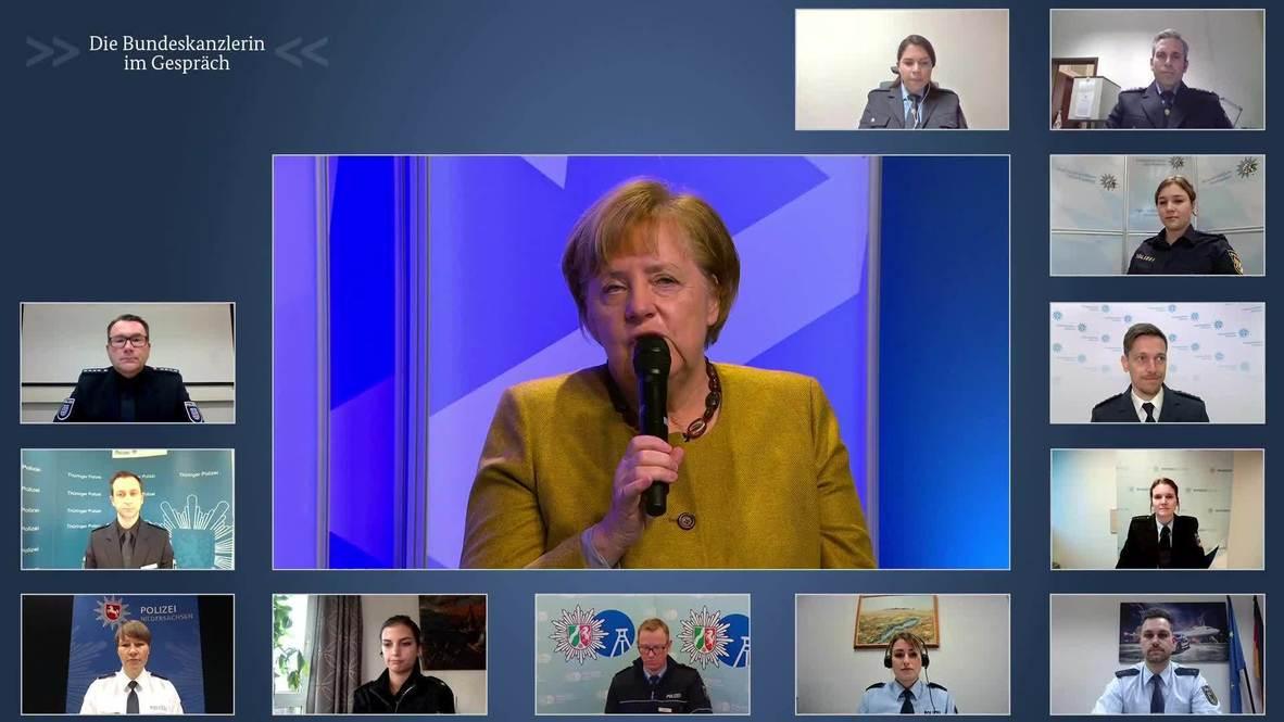 """Alemania: """"Tenemos que superar los meses de invierno"""" - Merkel"""