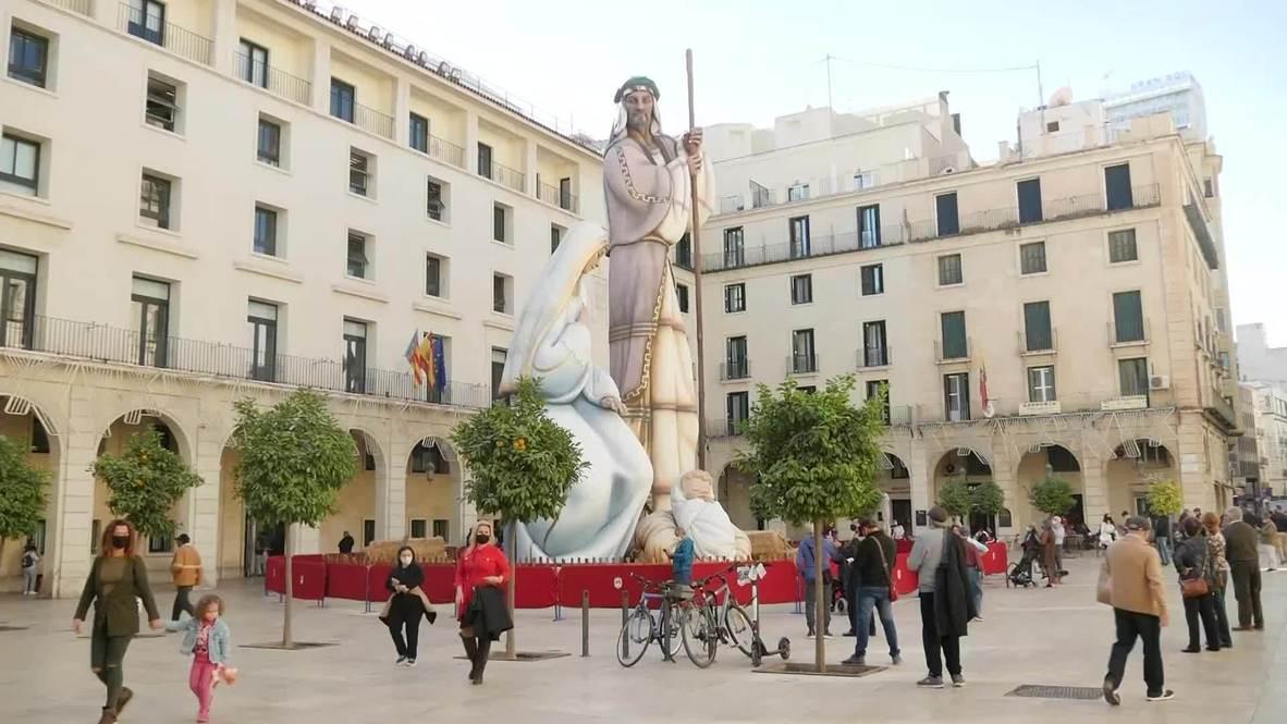 Alicante breaks record for world's biggest nativity scene