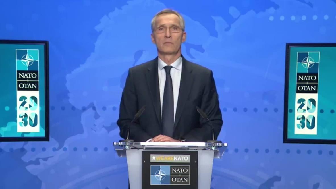 بلجيكا: الأمين العام للناتو يقول إن التحالف الأمني يواجه معضلة أفغانستان