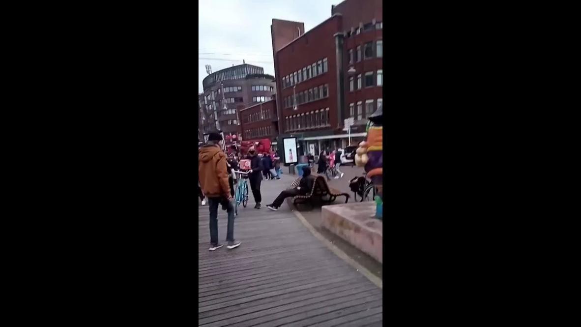 هولندا: سماع صفارات الإنذار وسط لاهاي بعد حادث طعن