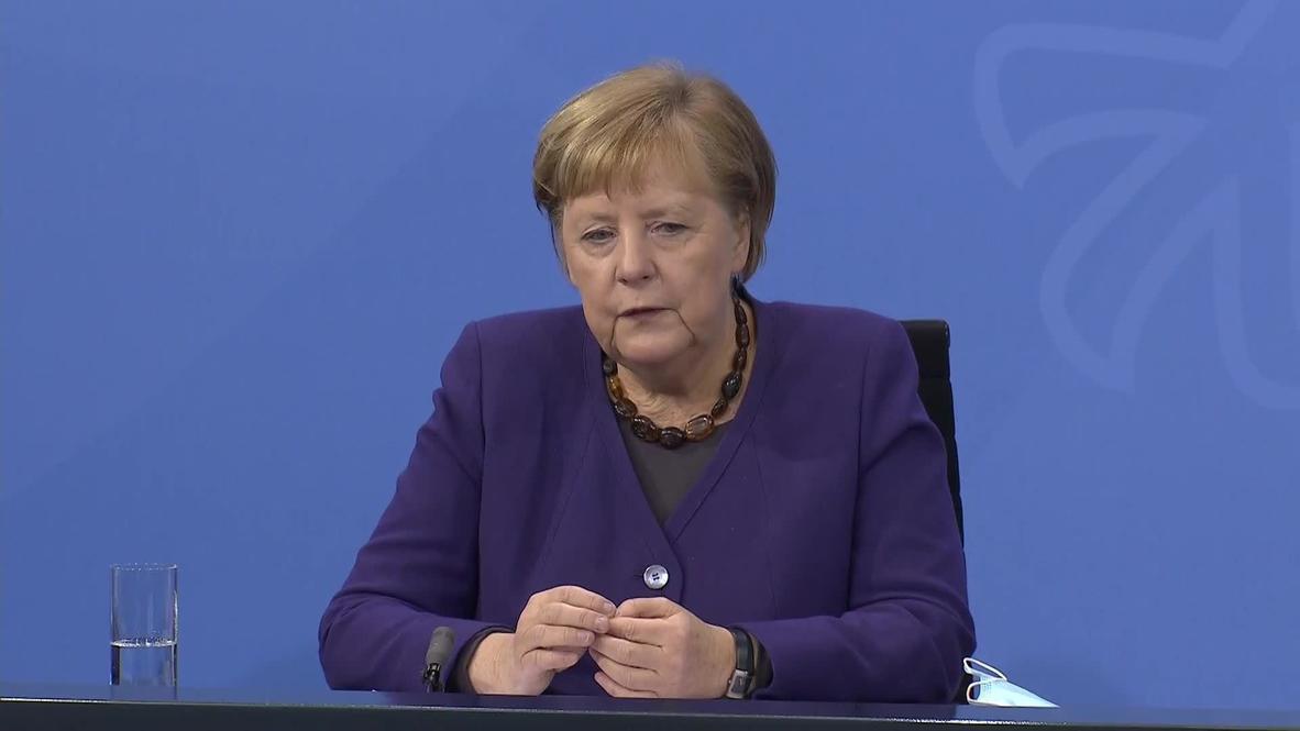 Germany: Merkel announces extension of partial lockdown until January 10