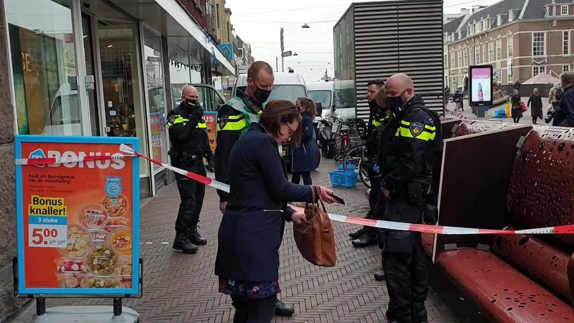 هولندا: الشرطة تطوّق متجر وسط مدينة لاهاي في أعقاب حادث الطعن