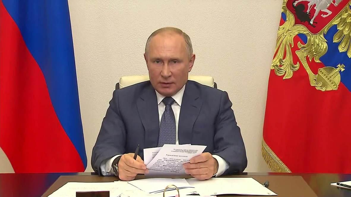 روسيا: بوتين يوجه ببدء حملة تلقيح واسعة ضد فيروس كورونا الأسبوع المقبل