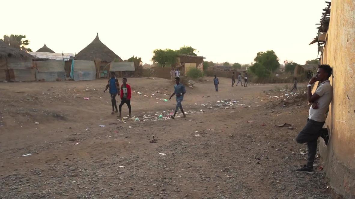 Sudan: Ethiopians fleeing conflict take shelter at Sudanese border