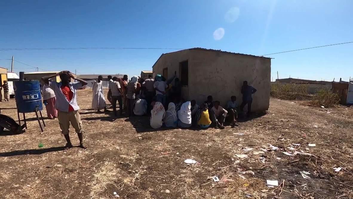 """السودان: طبيب يتحدث عن وضع اللاجئين الإثيوبيين """"الصعب"""" في مركز صحي مؤقت"""