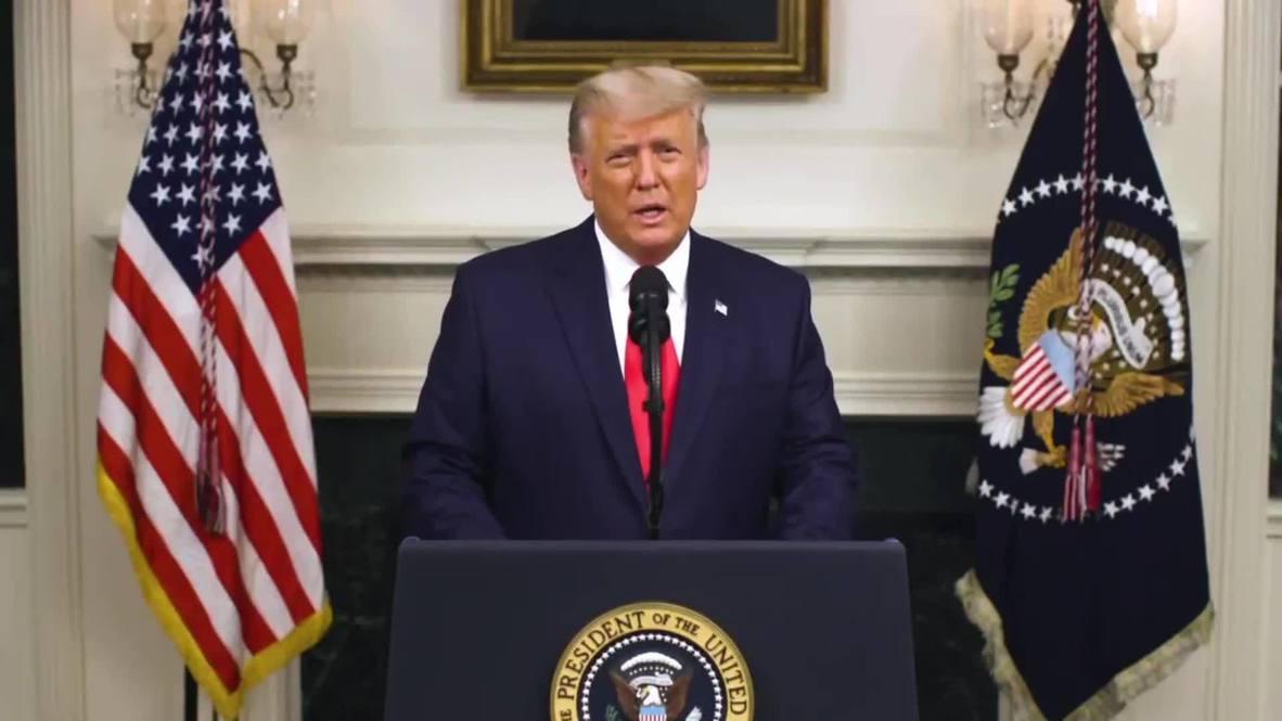 """EE.UU.: """"Los demócratas manipularon estas elecciones desde el principio"""" - Trump y resultados electorales"""