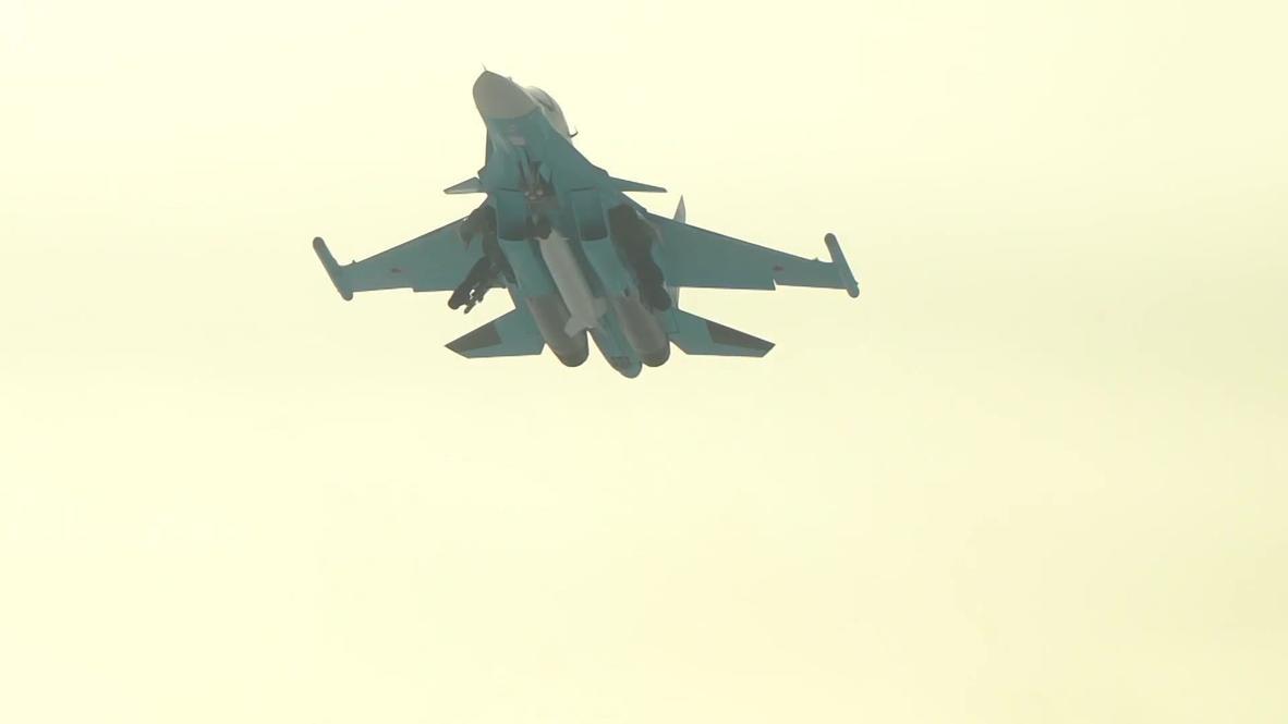 Россия: Модернизированный истребитель Су-34 передан Минобороны