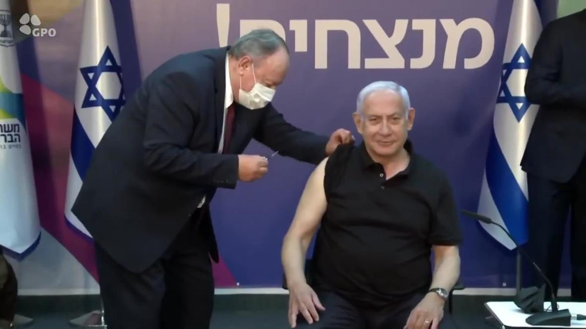 إسرائيل: نتنياهو يحصل على الجرعة الثانية من لقاح كوفيد ويقول إنه يمكن تطعيم جميع الإسرائيليين بحلول أبريل