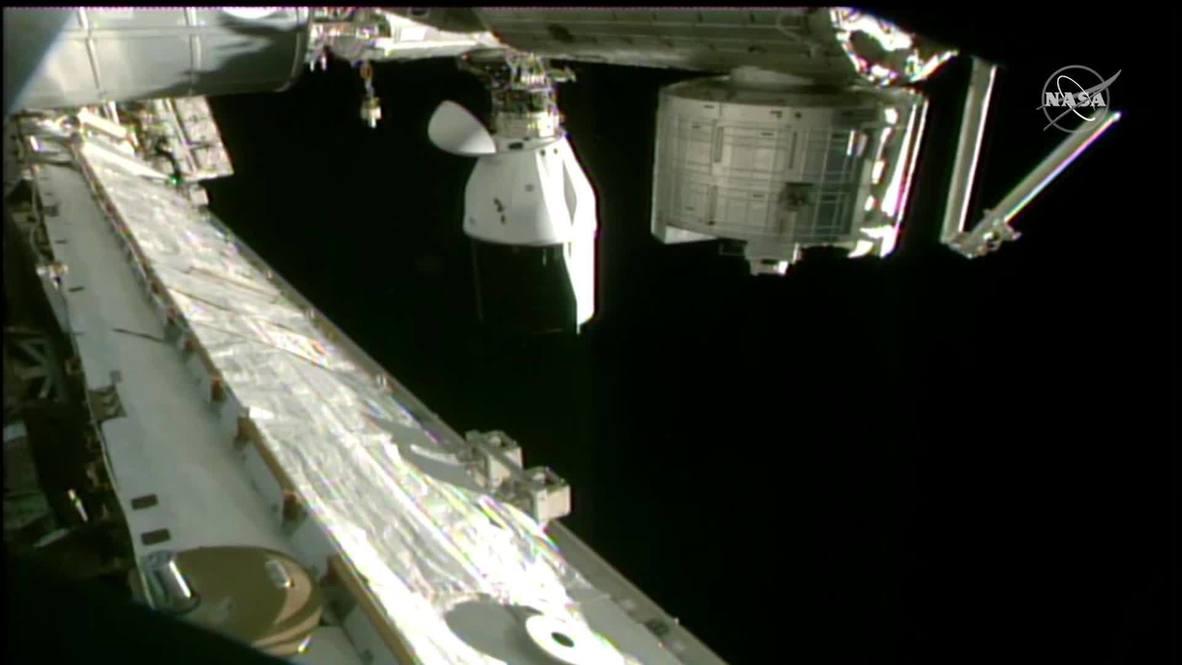 EEI: La NASA cancela el regreso de la nave SpaceX Cargo Dragon debido al mal tiempo
