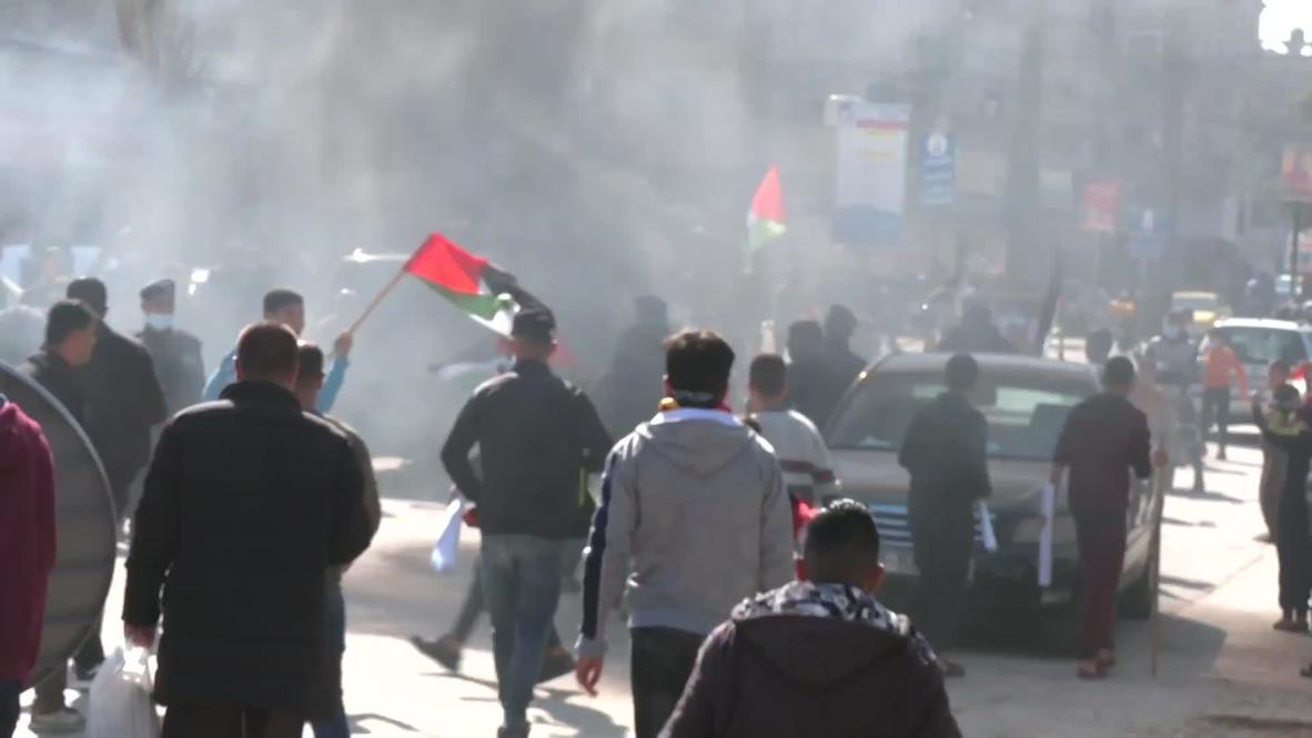 """دولة فلسطين: تظاهرة غاضبة في مخيم جباليا ضد تقليصات مساعدات """"أونروا"""""""