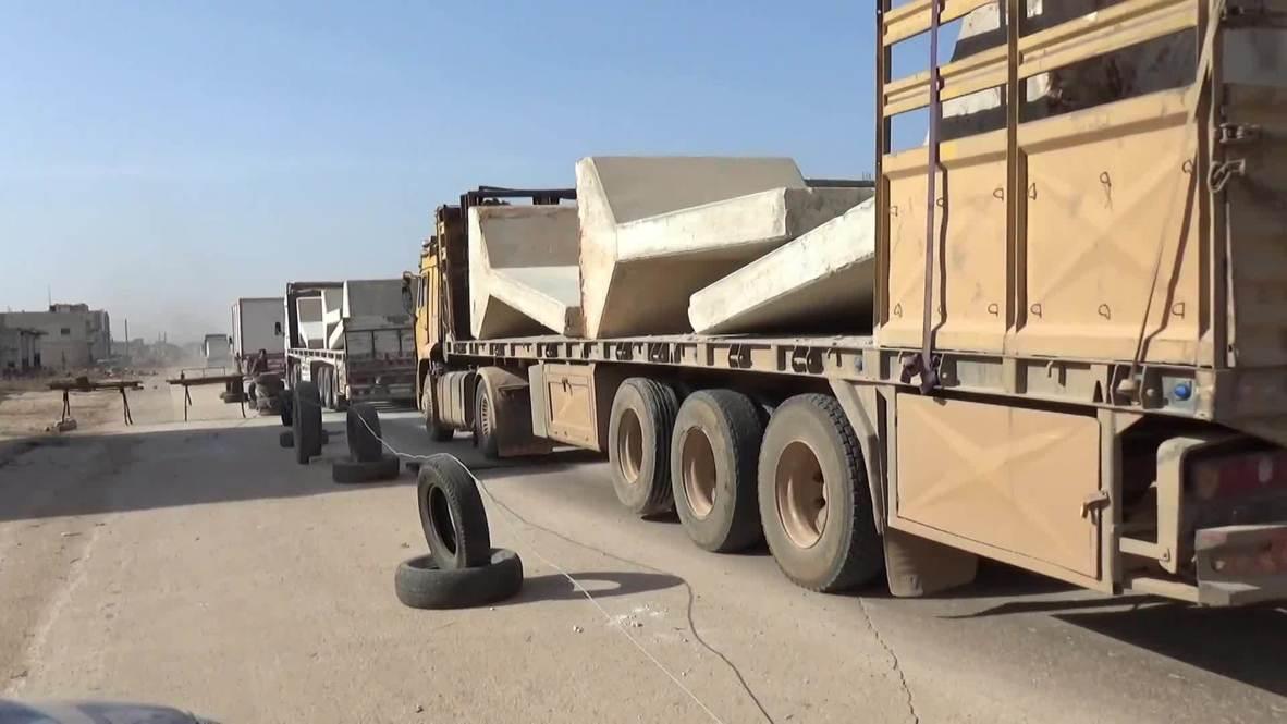 سوريا: انسحاب القوات التركية من نقطة المراقبة في تل طوقان