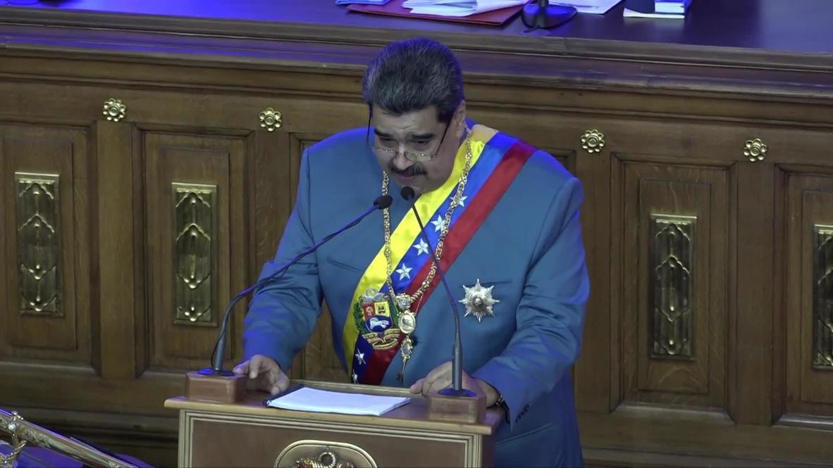 Venezuela: Maduro calls Trump administration 'Ku Klux Klan cowboys of the White House'