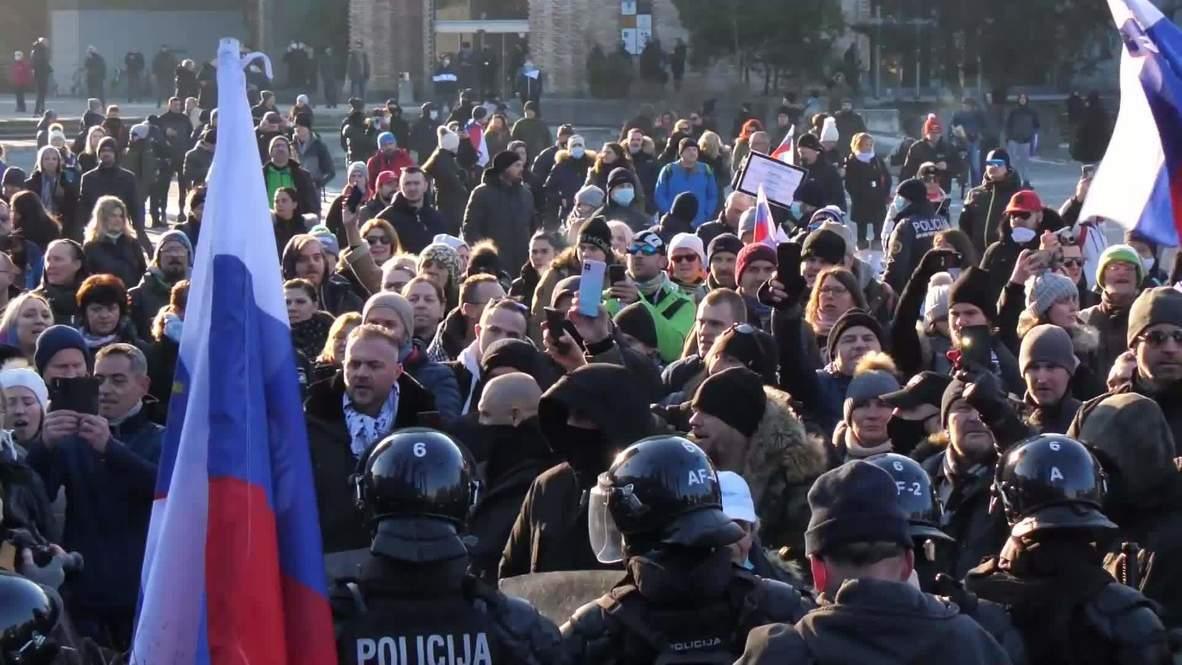 Slovenia: COVID-sceptics rally in Ljubljana as govt extends restrictions until late spring
