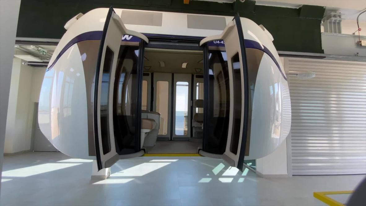 UAE's first high-speed sky pod network showcased in Sharjah