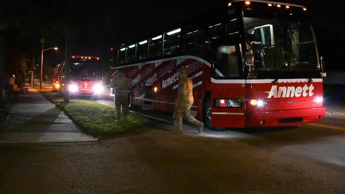 EE.UU.: Tropas de la Guardia Nacional salen de Florida para ayudar con tareas de seguridad en D.C.