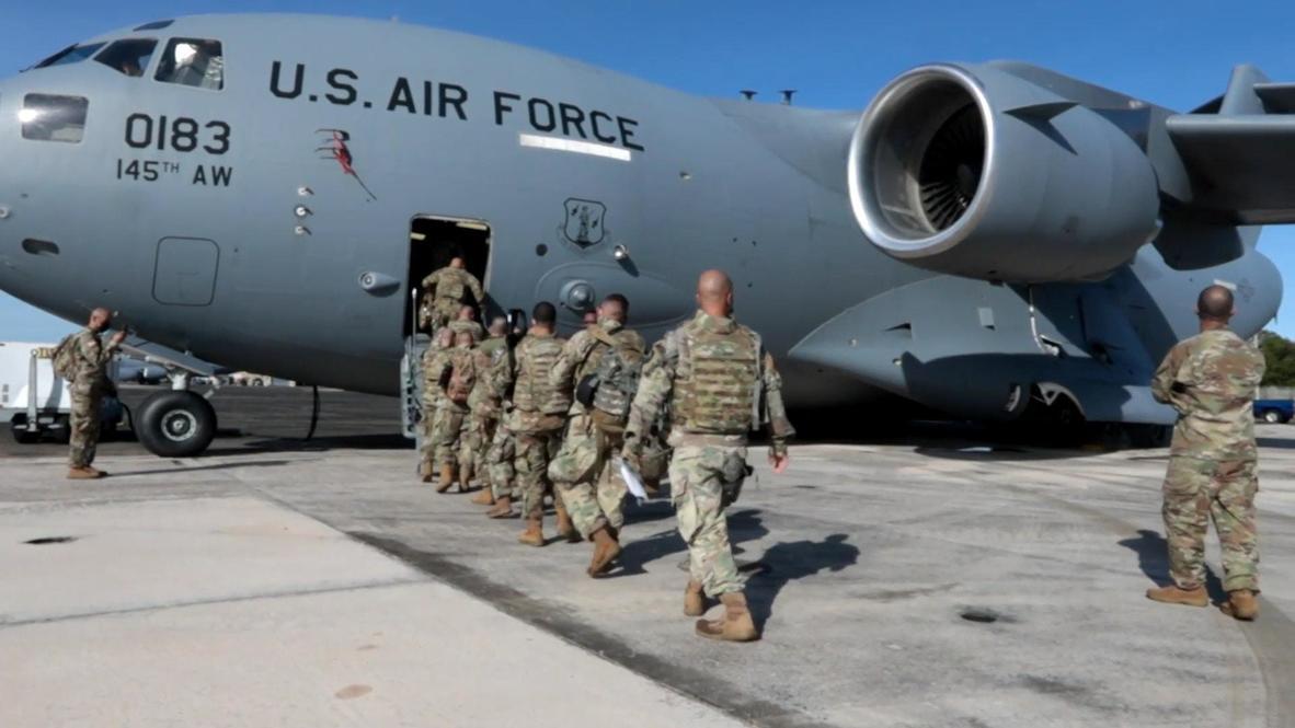 Puerto Rico: Soldados salen hacia Washington para brindar seguridad en la semana de inauguración de Biden