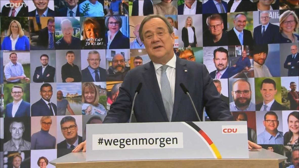 Alemania: La CDU elige a Armin Laschet para como líder del partido de la canciller Angela Merkel