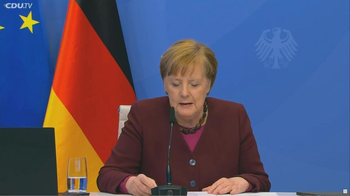 Alemania: Merkel se dirige a la CDU antes del cambio de liderazgo
