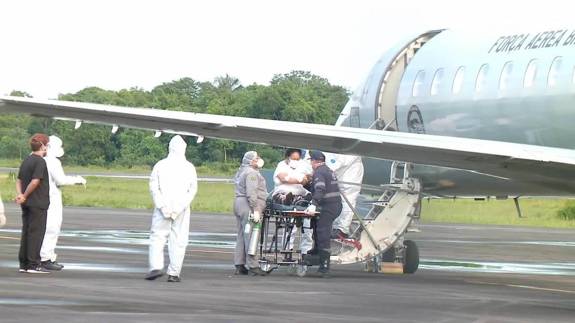 البرازيل: طائرات تسلم الأكسجين إلى ماناوس وتنقل المرضى جواً إلى ولايات أخرى وسط تفشي فيروس كورونا