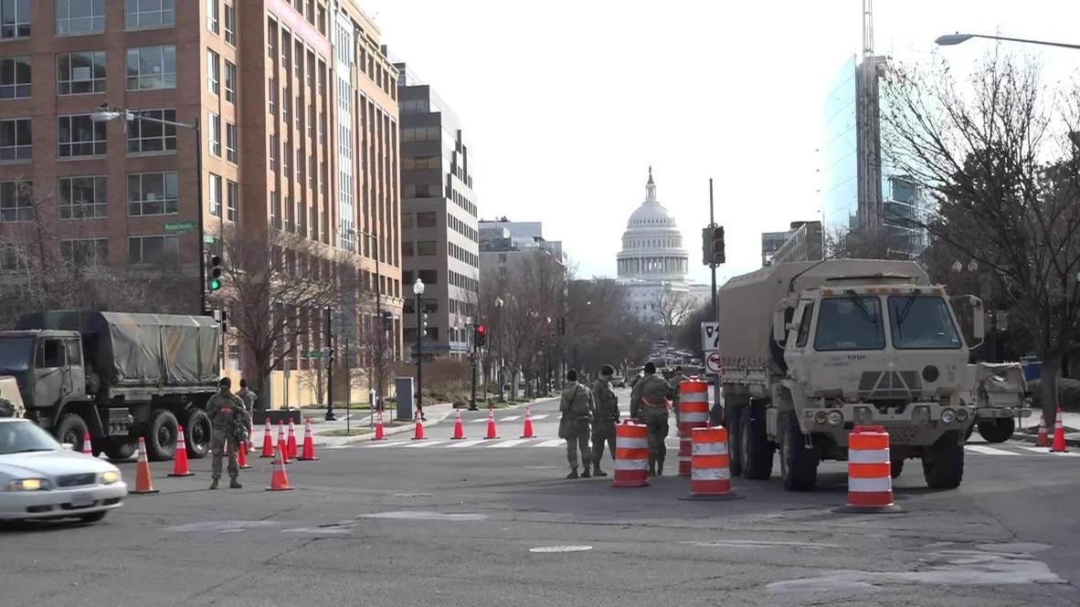 الولايات المتحدة الأمريكية: إنشاء نقاط تفتيش تابعة للحرس الوطني في العاصمة قبل تنصيب بايدن