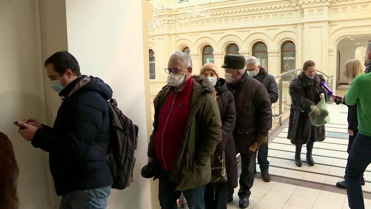روسيا: بدء حملة التطعيم الشاملة في موسكو