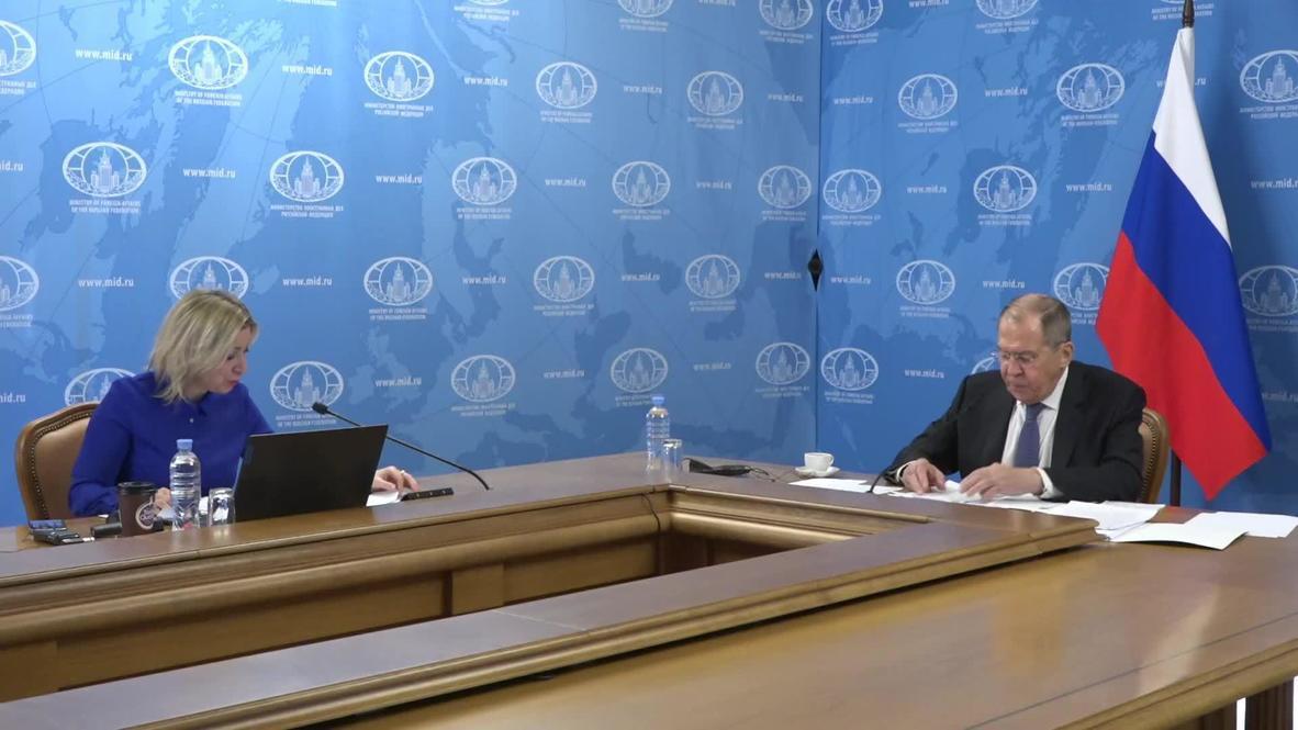 """Россия:  """"Нет никаких вещественных доказательств"""" - Лавров о возможном отравлении Навального"""