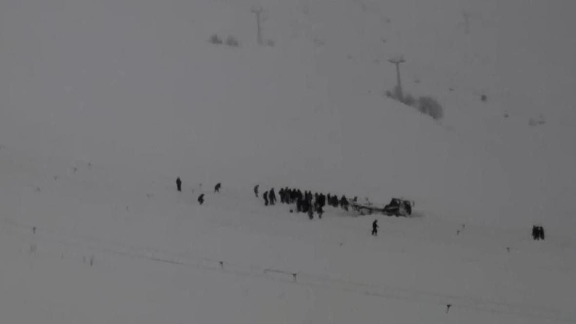 Россия: Один человек погиб при сходе лавины на горнолыжную трассу в Карачаево-Черкесии