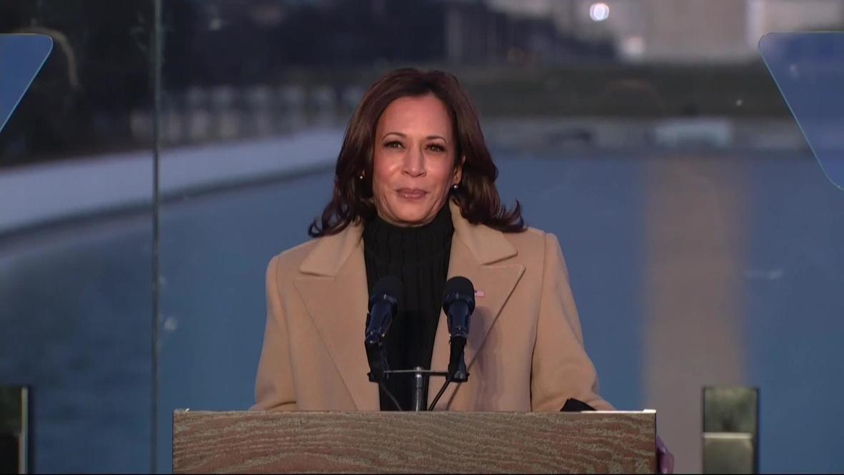 EE.UU.: Biden y Harris celebran un servicio conmemorativo para las víctimas del covid