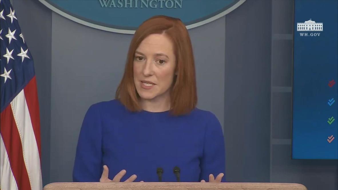 """EE.UU.: Biden quiere traer """"la verdad y la transparencia de vuelta al Gobierno"""" nueva secretaria de prensa de la Casa Blanca"""