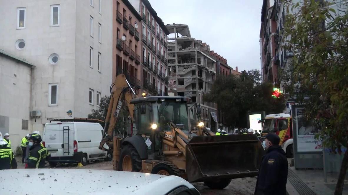إسبانيا: استمرار عمليات الطوارئ بعد مقتل أربعة أشخاص في انفجار ناتج عن تسرب الغاز في مبنى بمدريد