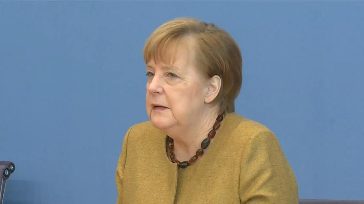 Alemania: Merkel pide a ciudadanos que no critiquen la velocidad de la vacunación