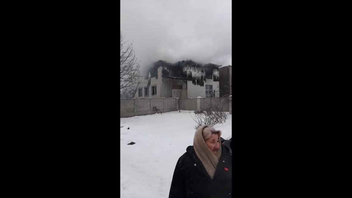 Украина: Как минимум 15 человек погибли при пожаре в частном пансионате в Харькове