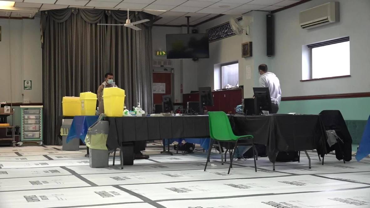 المملكة المتحدة: مسجد برمنغهام يصبح مركزًا للتطعيم ضد فيروس كورونا المستجد