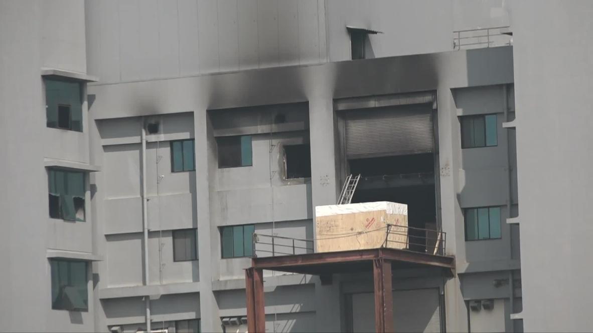 India: Instalaciones calcinadas del mayor fabricante de vacunas del mundo tras mortal incendio