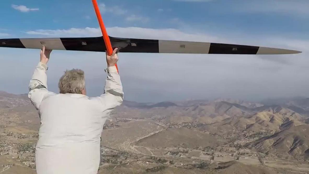 EE.UU.: El avión teledirigido más rápido del mundo bate el récord con 882km por hora