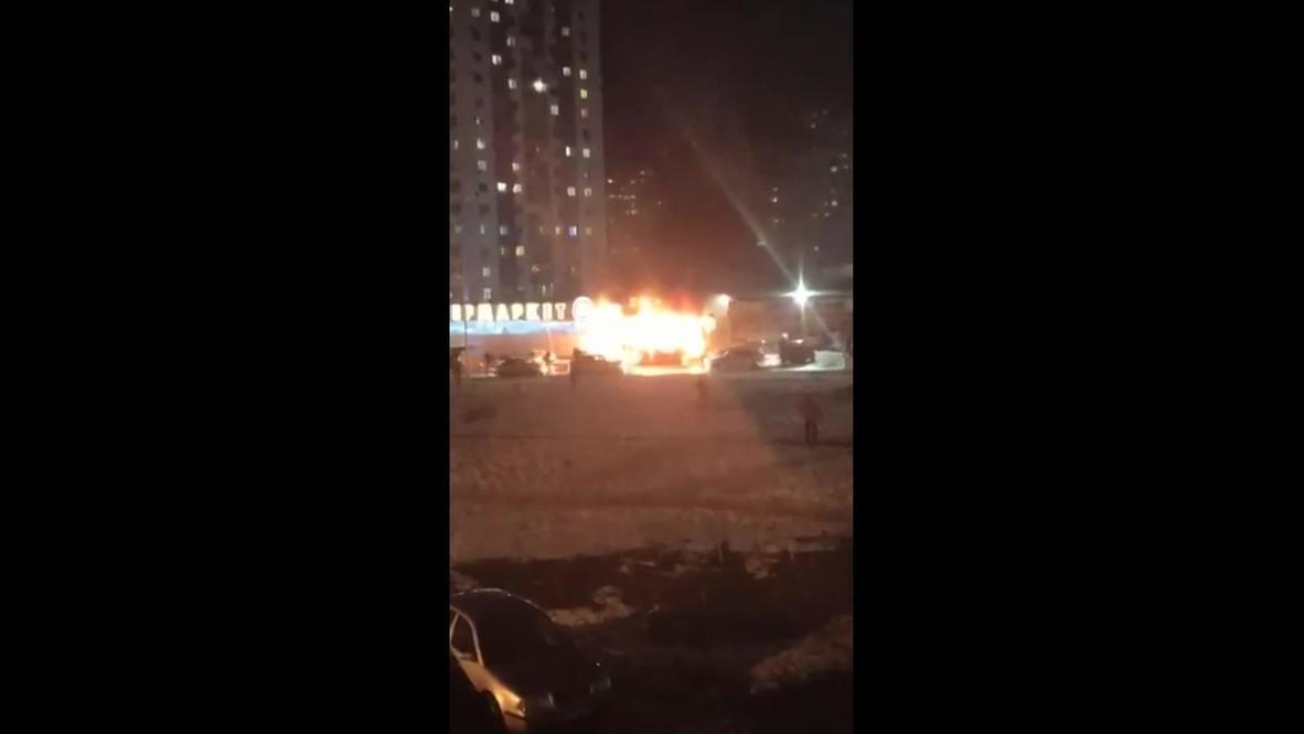 Россия: Момент взрыва в краснодарском супермаркете попал на видео