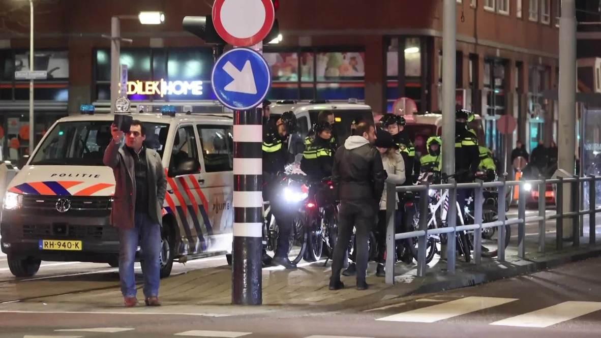 هولندا: اعتقال اثنين على الأقل وسط تواجد مكثف للشرطة في لاهاي عقب احتجاجات ضد الإغلاق