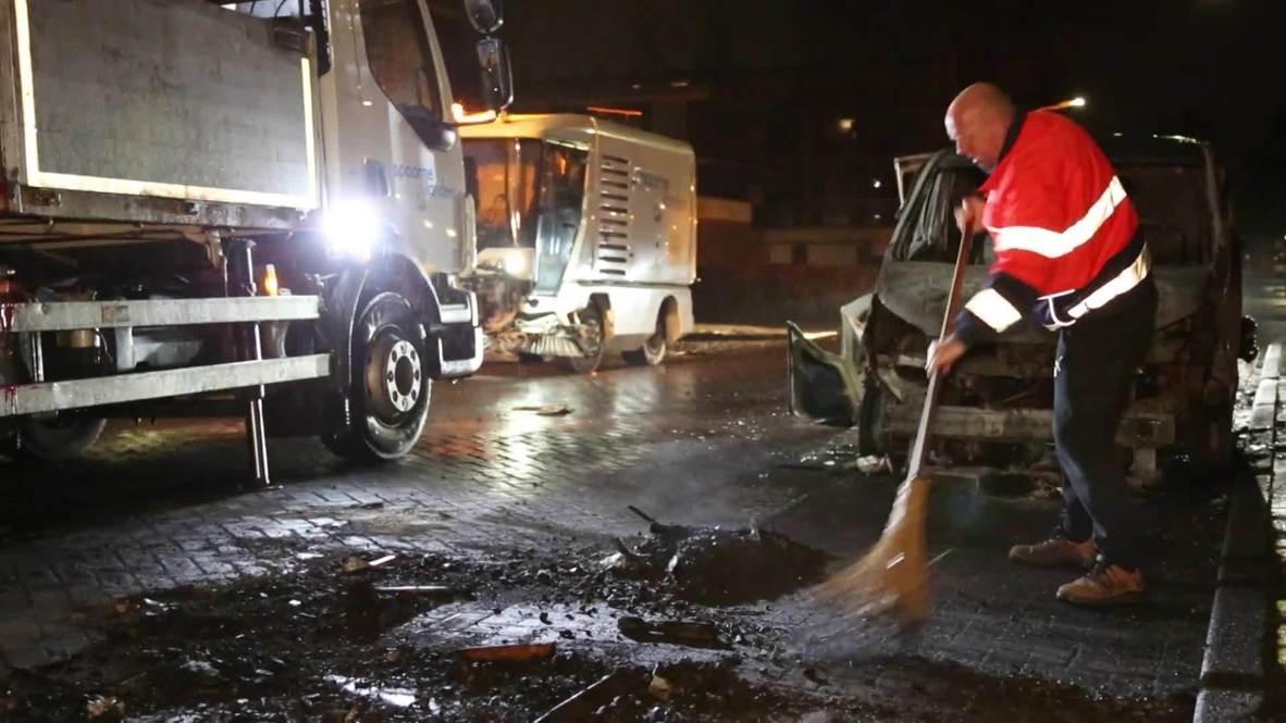 هولندا: حملة تنظيف في هارلم بعد أعمال شغب ضد حظر التجول