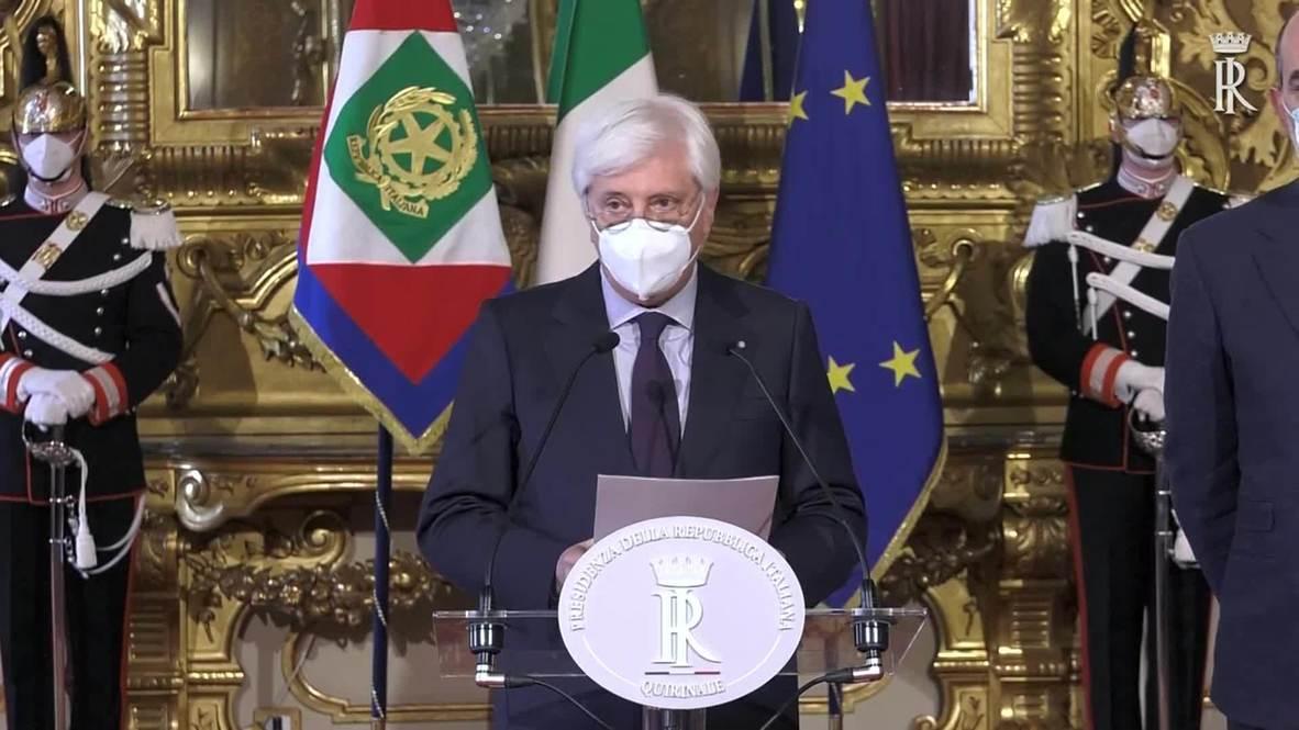 Italia: La oficina del presidente anuncia la dimisión del primer ministro Conte
