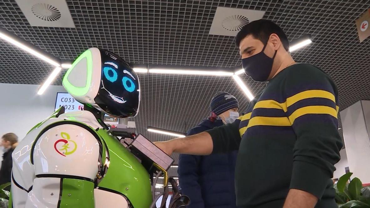 Robot capaz de diagnosticar enfermedades trabaja en una institución pública de Moscú
