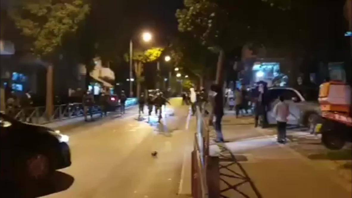 Israel: Ultraortodoxos y policía se enfrentan en Jerusalén por las restricciones por covid-19