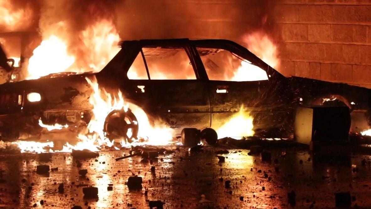 Líbano: Varios manifestantes heridos con munición durante una manifestación en Trípoli