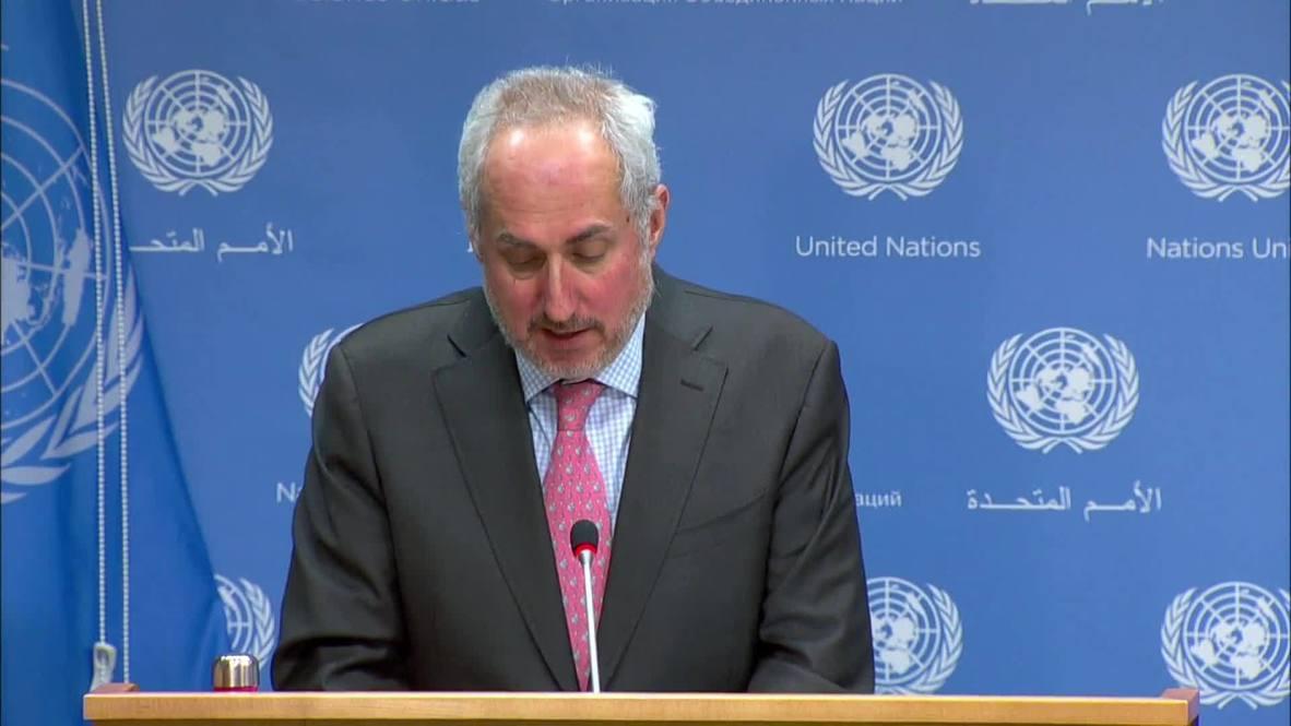 UN: Sec-Gen Guterres 'strongly condemns' attack on UN convoy in DR Congo